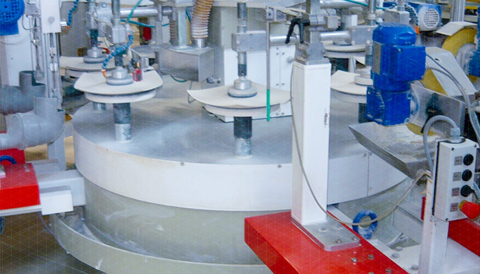 OFM 8 finishing machine for ceramic tableware